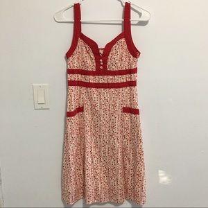 Dresses & Skirts - Cute Floral Prints Dress w/ Pockets
